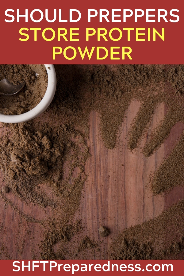 """Protein Powder for Preppers: Choosing It, Using It, and Storing It - A good quality protein powder can turn a """"snack"""" into a nutritional motherlode at the touch of a blender. In fact, you don't even have to have a blender if all you want is the protein part. There are shaker cups with a little whisk ball inside that will thoroughly mix most good protein powders with nothing but people power. ( I like the ones with at least 28 ounces for more shaker space.)"""