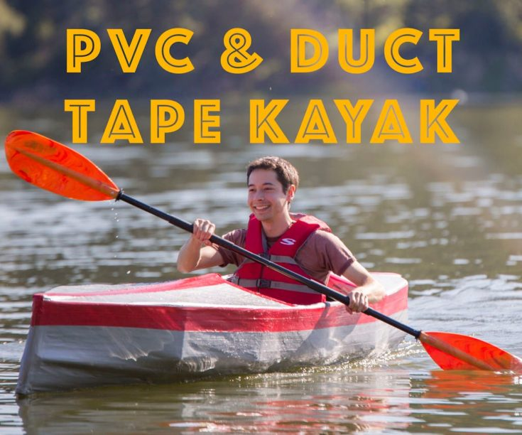 PVC & Duct Tape Kayak