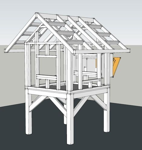 Trictle's Chicken Coop With Plans