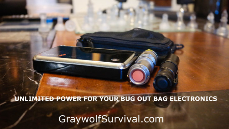 Almost Unlimited Power for your Camping or Bug Out Bag Electronics