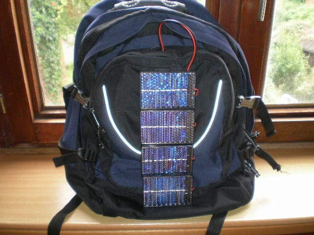 Solarize Your Backpack and Power All Your Gizmos