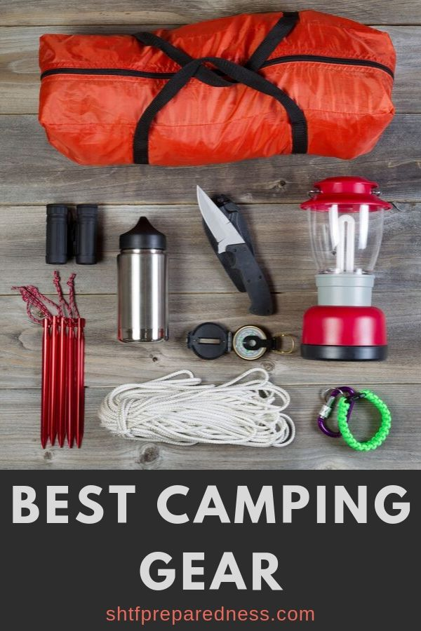 Are you planning some camping trips this year? Make sure to prepare the best camping gear, and that you and your family will be safe and able to enjoy your time in nature. Having this camping equipment will also be extremely helpful in an emergency. #campinggear #camping #capingequipment #emergency #preparedness #survival #staysafe