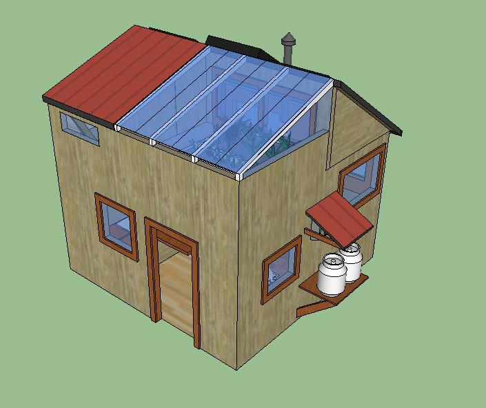 10k DIY Off Grid Solar Tiny House