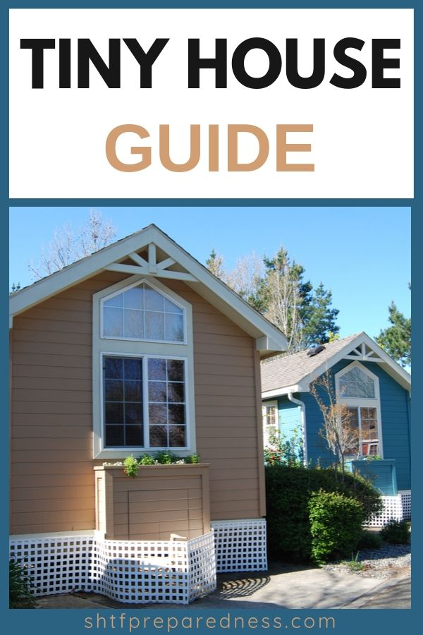 Check out this tiny house guide: great ideas and inspiration! #tinyhouse #tinyhome #prepping #survival #minimalist #prepared