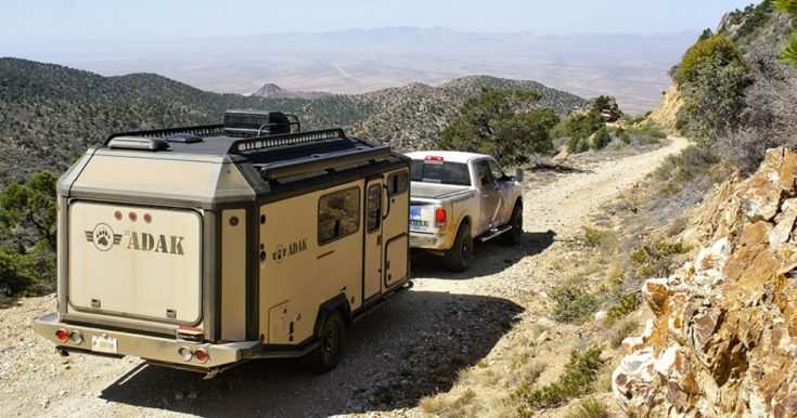 Camping Trailers Keep You Cozy Off the Grid