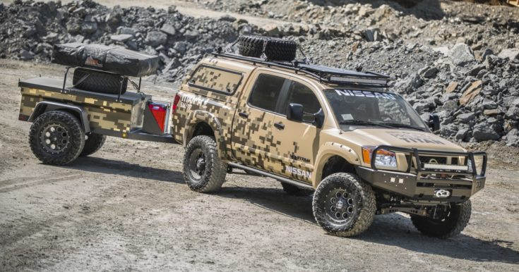 Rugged, Alaska-ready Titan Crew Cab Off Grid Trailers