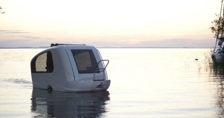 Sealander Amphibious Off Grid Trailers