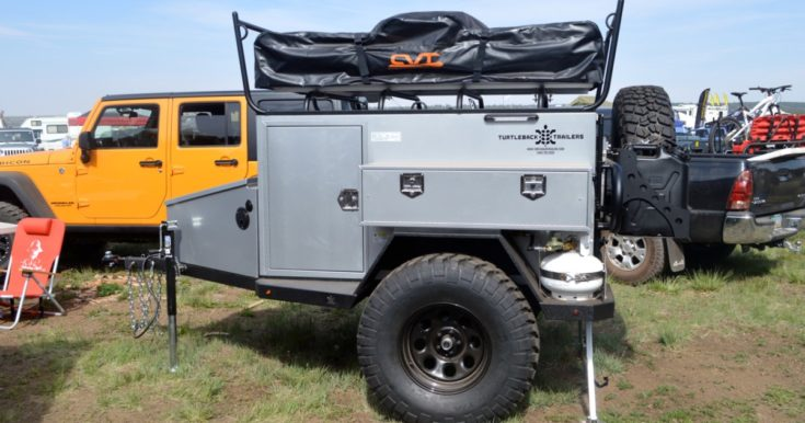 Turtleback Trailer Feeds, Cleans and Shelters You Off Grid