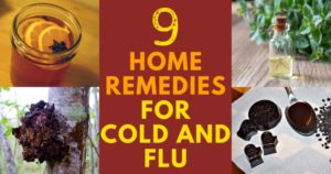 9 home remedies for cold and flu