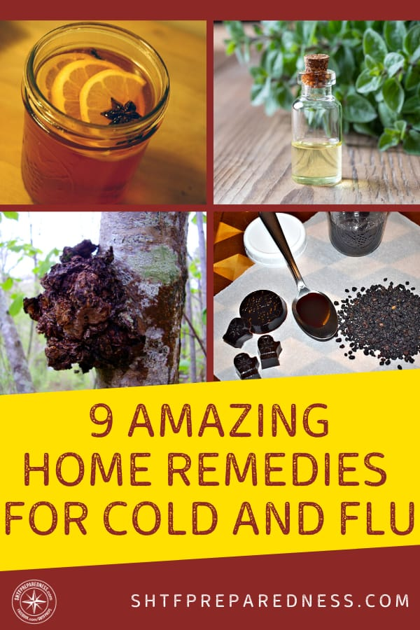 As soon as you feel things going south head for the kitchen and cook up one of these home remedies for cold and flu.