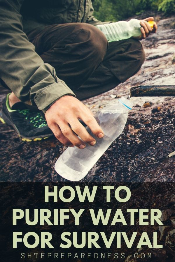 Knowing how to purify water when disaster strikes is a crucial skill. As a result, you won't need expensive filters or other setups to make sure your water is safe to drink.