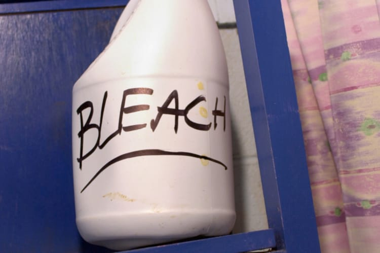 After bottled water and boiling water, bleach can be used (with extreme caution) to purify water for drinking.