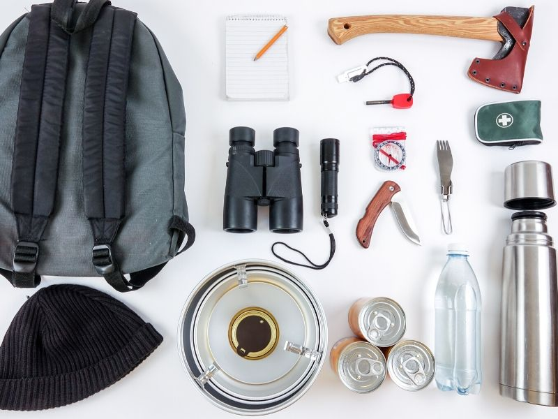 Bugout backpack contents