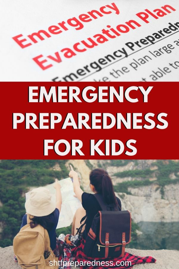 Every parent needs to take time to learn emergency preparedness for kids. #preparedness #emergency #survival #disaster #shtf