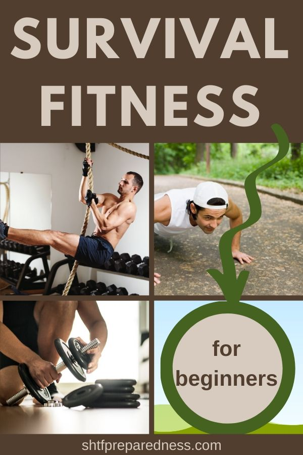 Survival fitness for beginners