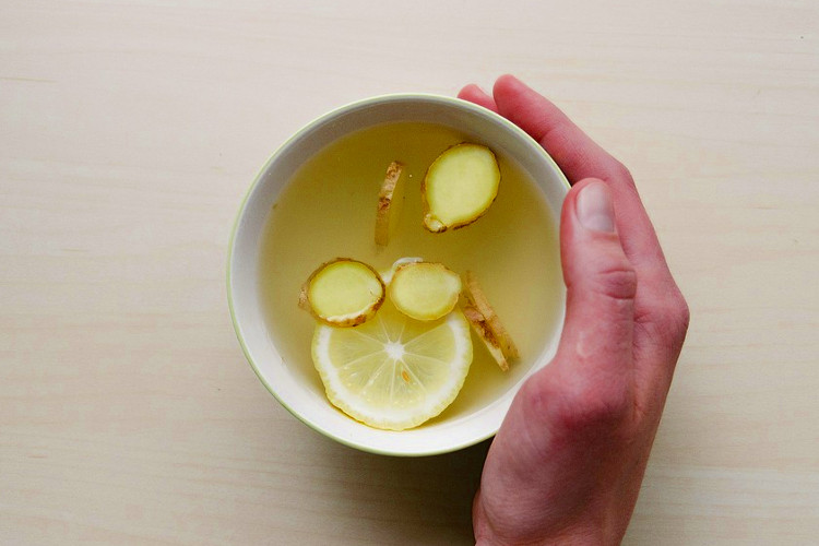 Steeped in tea, ginger can soothe a tummy ache