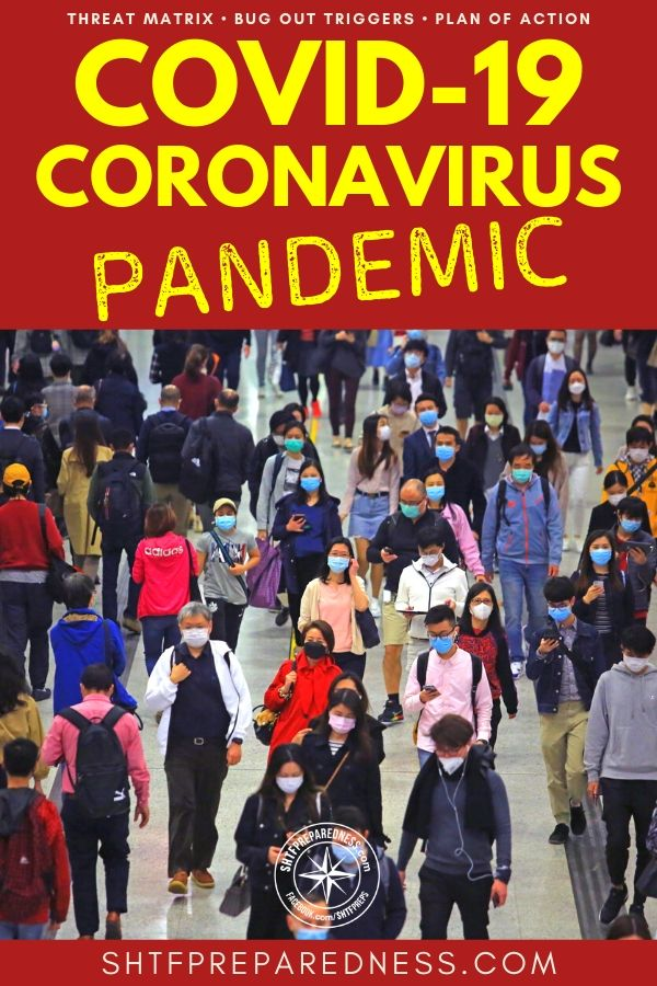The COVID-19 coronavirus pandemic is here and apparently preppers aren't so crazy after all. If you don't have a plan of action then read ahead.
