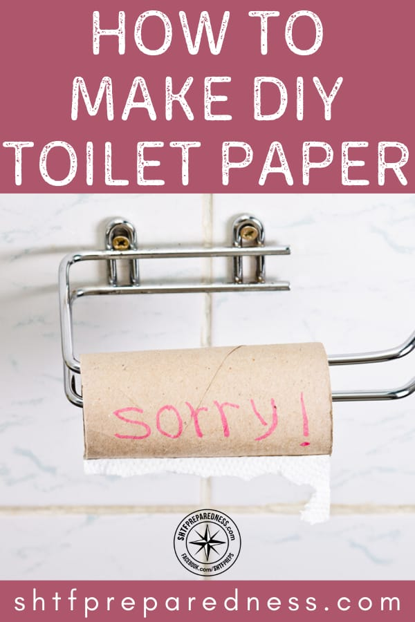 Making DIY toilet paper at home is easy and fun! It's a great project that is simple and can add to your preparedness stockpile.