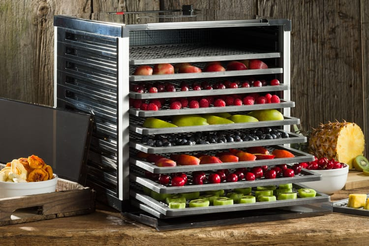 LEM 1153 Mighty Bite 10-Tray Double Door Dehydrator