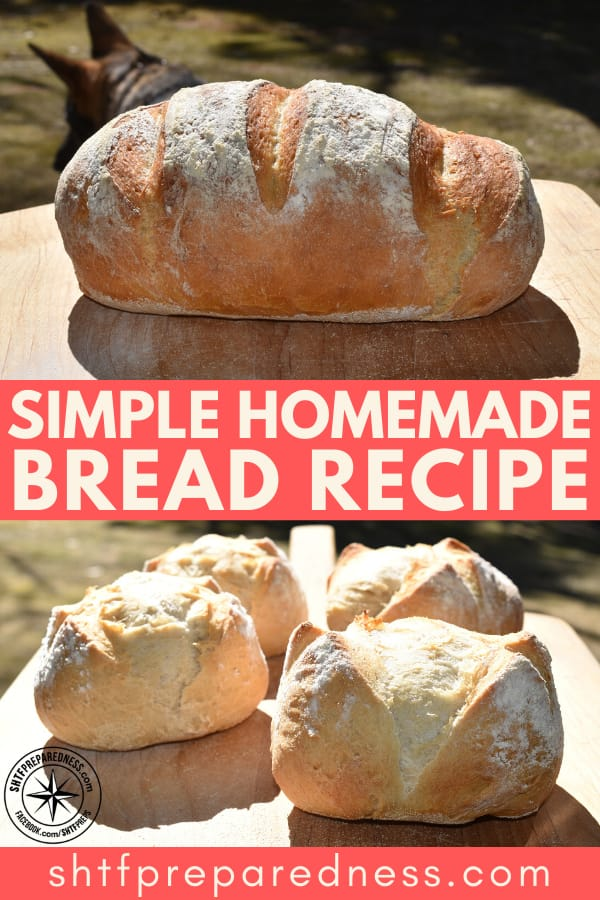 Bread is the stuff of life, it warms your heart and fills your stomach. Try this easy simple homemade bread recipe once and you'll be hooked.