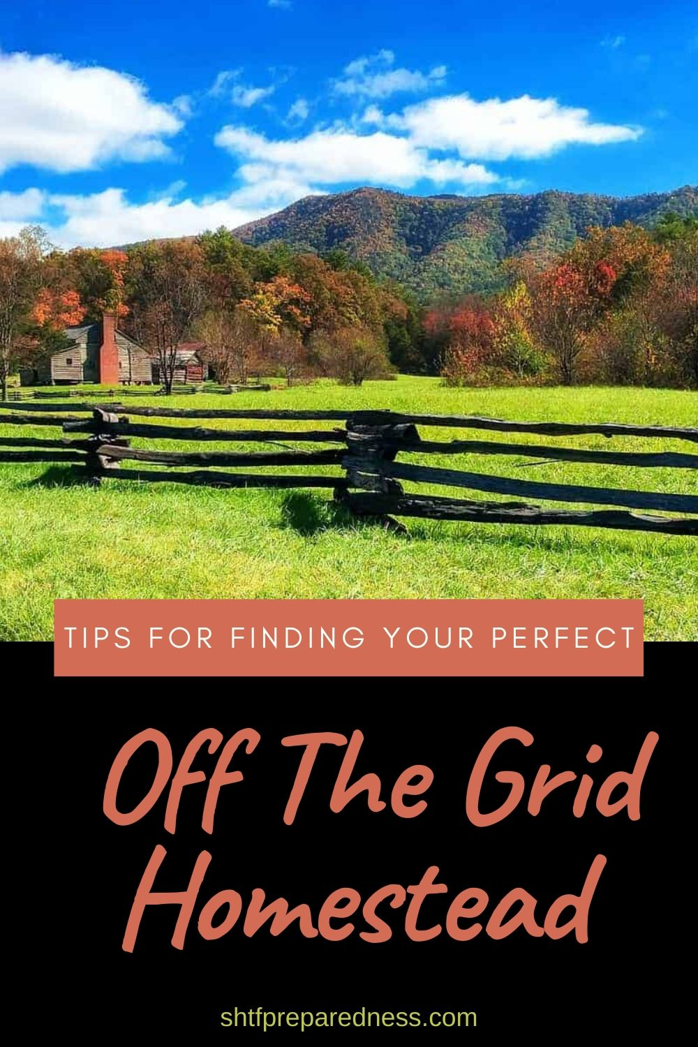 Off grid homesteading tips