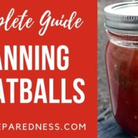 complete guide to canning meatballs