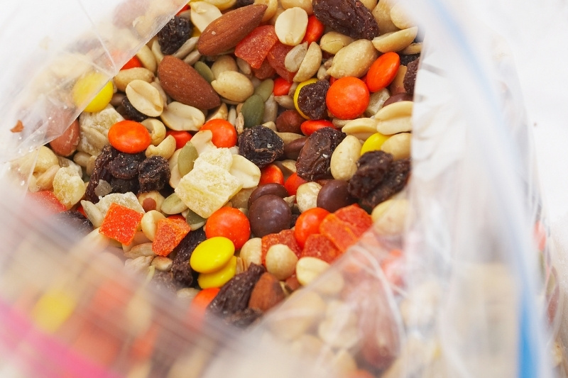trail mix emergency bug out bag foods