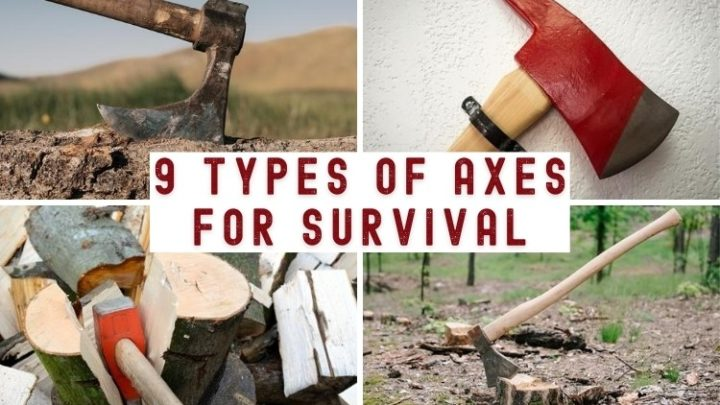 9 Types of Axes for Survival
