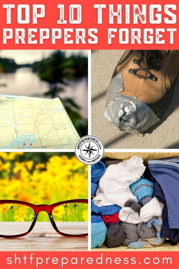 As hard as we try to cover all our bases, there are many things preppers forget while packing. Check this list before it's too late!