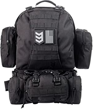 3V Gear Paratus 3-Day Operator's Tactical Backpack