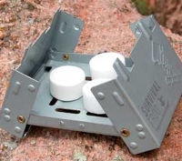 Pocket Stove with Smokeless Fuel Tablets
