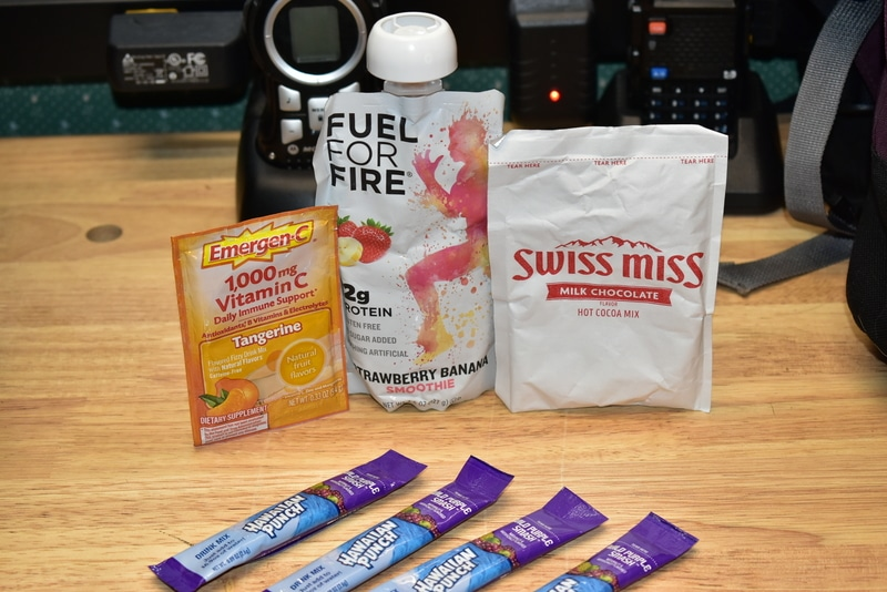 energy-rich bug out bag foods
