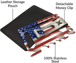 46 in 1 American Flag Patriot Multi-Tool
