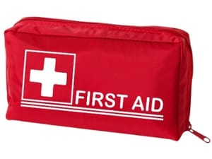small emergency first aid kit