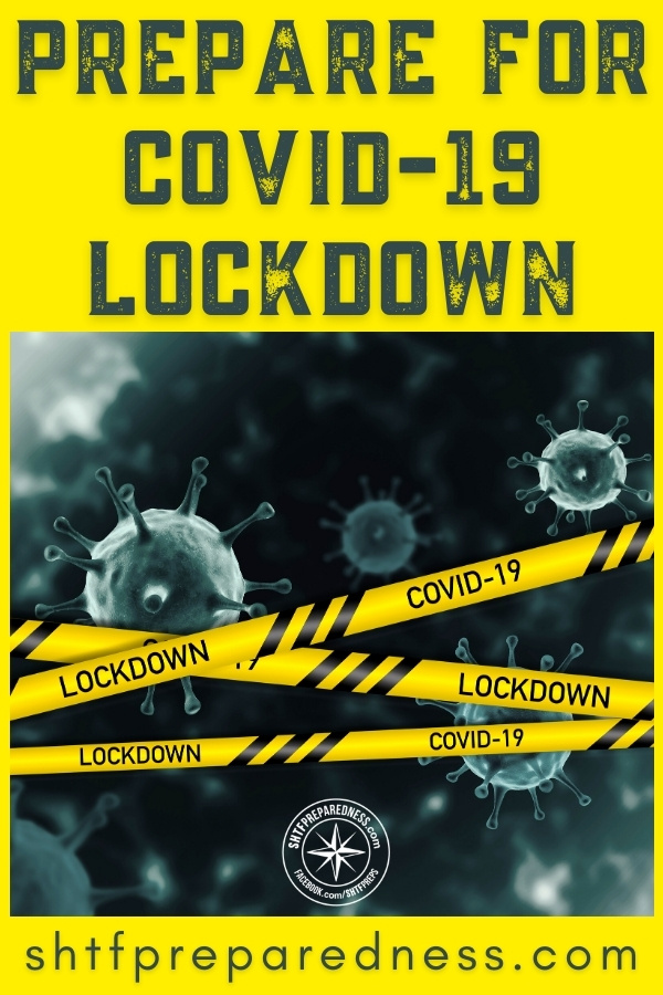 Prepare for the inevitable COVID lockdown with our pre-lockdown prepping checklist + tips on food storage, staying healthy, WFH set up and more.