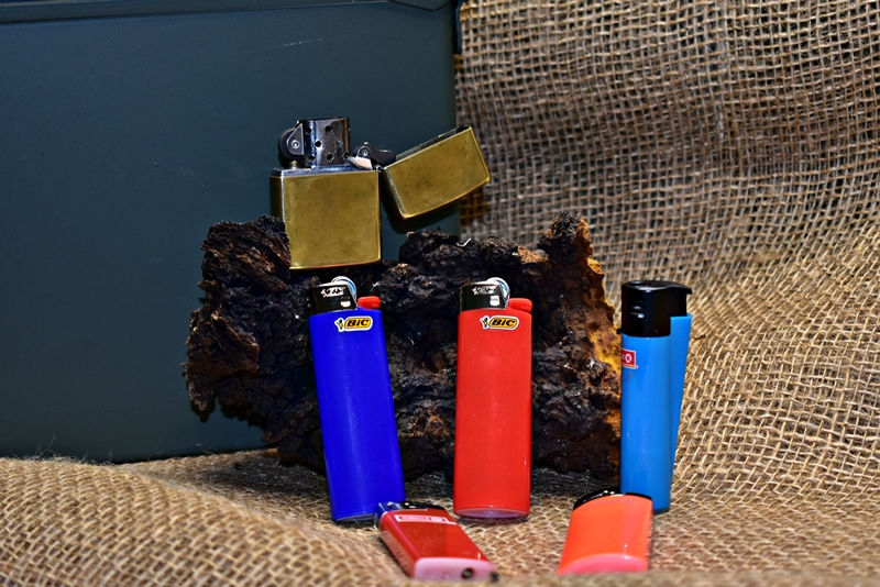 different types of lighters