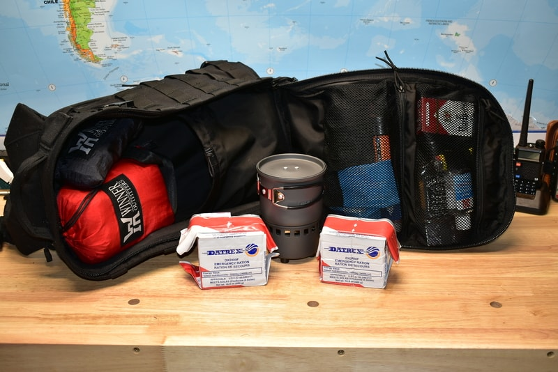 food supplies for your get home bag