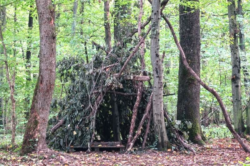 example of a lean to shelter