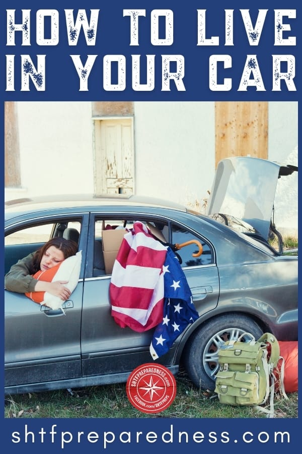 how to live in your car