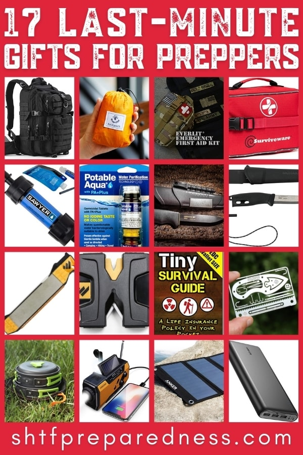 last minute gifts for preppers