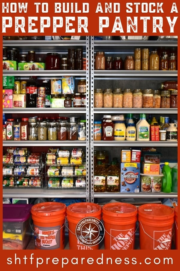 We can survive about three weeks without food. Your prepper pantry can keep you thriving well beyond that. Let's build a pantry together!