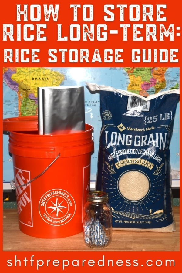 Rice is a staple for people around the world. Likewise, long-term rice storage is a staple for preppers. Let's learn how to store rice in your prepper pantry.